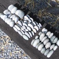 strikje buiten steen objecten