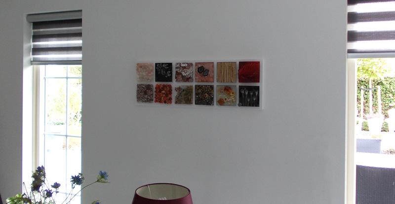 strikje muur samenstelling op maat