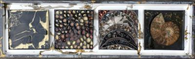 strikje samenstelling goud zwart