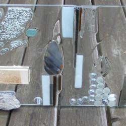 Glas paneel workshop strikje